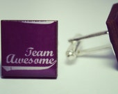 Team Awesome Cufflinks