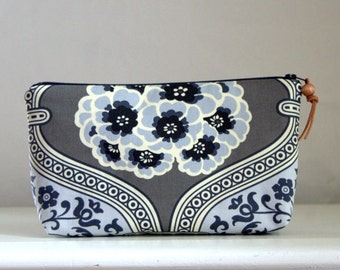 Primrose Wide Padded Zipper Pouch Gadget Case Cosmetics Bag - READY TO SHIP