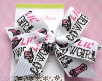 Lil' Cowgirl Classic Diva Bow