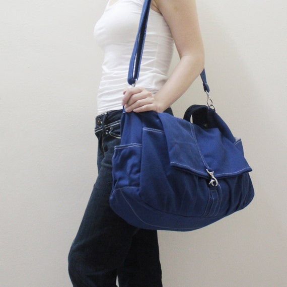 Halloween SALE - 20% OFF Classic in Royal Blue / diaper bag / School bag / Shoulder Bag / Hobo / Purse / tote / women / hers