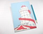 Helter Skelter - Handmade Postcard