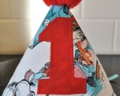 Cat in the hat Dr Suess Birthday  Party Hat