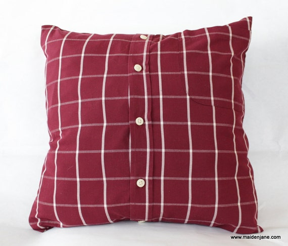 2016 Custom Memory Pillow Case Made From Upcycled Men 39 S