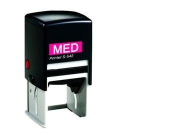 Custom Self Inking Stamp  Custom Rubber Stamp  Custom Stamp  Custom Logo Stamp  Wedding Stamp  Personalized Stamp  MEDIUM SIZE