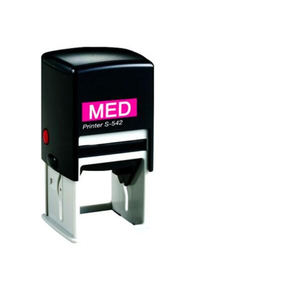 "Custom Self Inking Stamp  Custom Rubber Stamp  Custom Stamp  Custom Logo Stamp  Wedding Stamp  Personalized Stamp  MEDIUM SIZE 2 x 1.5"""