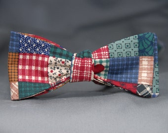 Wild Country Quilt-like Pattern  Bow tie