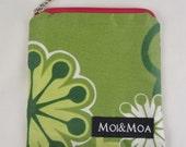 HALF PRICE SALE Handmade bag Stina - mini makeup pouch