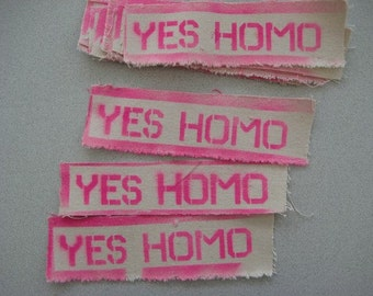 YES HOMO Patch