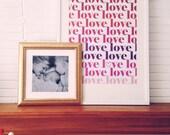 Valentines - love printable