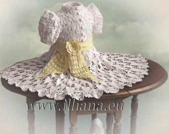 Baby Dress Crochet Pattern / Victorian