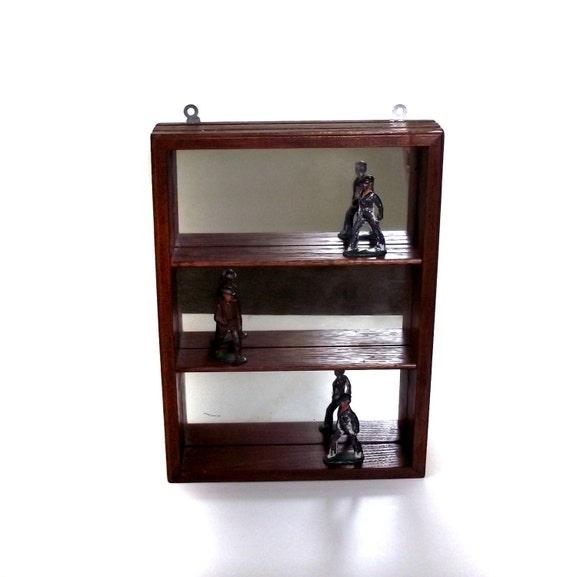 Shadow Box Mirror Shadow Box Vintage 80s Mini Display Shelves