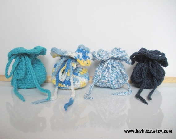 Crochet Wedding Gift: Wedding Favor Bags Crochet Set Of 20 Or More Party By Luvbuzz