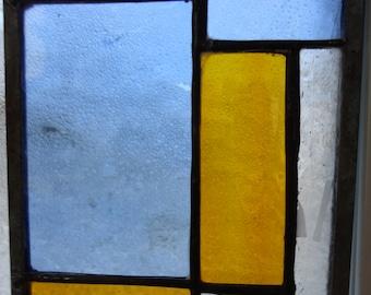Amber Sky Abstract Mini Panel