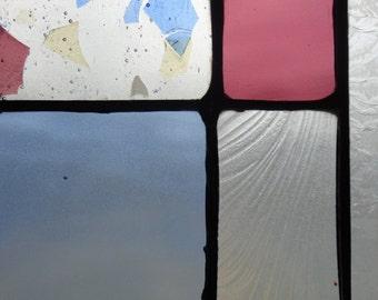 Sky and Plum Mini Panel
