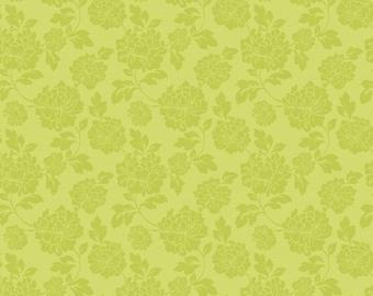Eden's Dream Tonal Floral in Green by Studio E Fabrics - 1 Yard