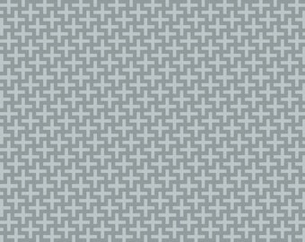 Life in the Jungle Tic Tac in Gray by Riley Blake Designs - 1 Yard