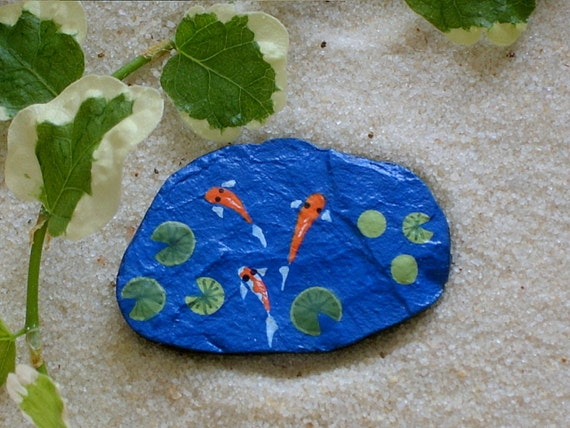 Custom listing for leeann williams koi pond summer by for Custom koi ponds