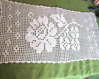 3 Lovely White Vintage Crochet Doilies, spring special!