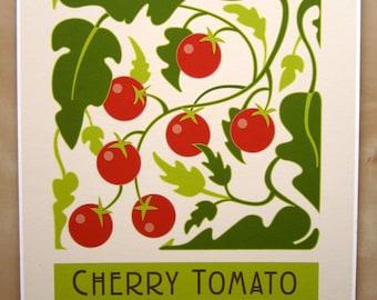 Cherry Tomato Art print