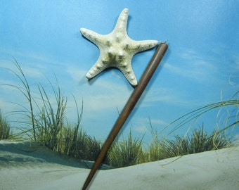 Wooden Hair Stick - Knobby Starfish