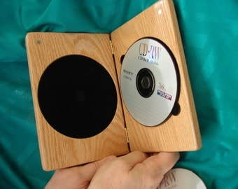 DVDCase,RedOak,SingleDVDCase,DVD,CD,Wood,Engraved,PersonalizedEngraving