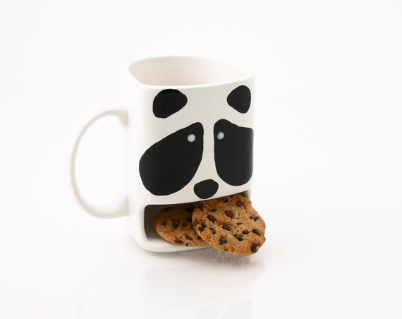 tasse de dunk cookie panda ours panda tasse mug animal. Black Bedroom Furniture Sets. Home Design Ideas