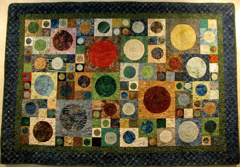 Modern Art Deco Batik Quilt : art deco quilt - Adamdwight.com