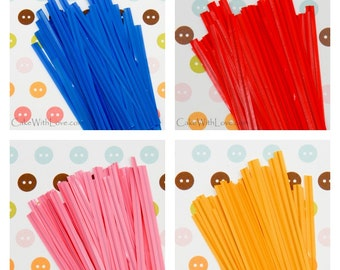 Color Twist Ties