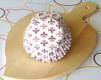 Standard Fleur De Lis Cupcake Liners