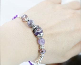 Charisma bracelet -  amethyst