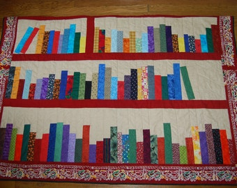 One Man's Treasure Read A Book Twin Quilt