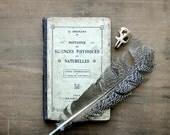 Notions de Sciences Physiques et Naturelles - Antique 1914 French Science Book - Paris - Halloween - Collectible - Book Plates - Nature