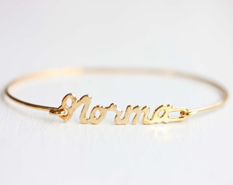 Vintage Name Bracelet - Norma