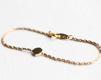Gold Hexagon Bracelet