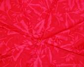 Super Neon Hawaiian Hibiscus Print Upcycled Umbrella Dog Rain Coat