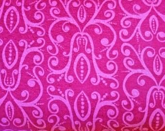 Flannel, Hot Pink, Fuchsia, Karavan, Savannah, Blossom, Deal, of the Week, Baby, Girl, Wholesale, Clearance, Fabric, FreeSpirit, 1 yard