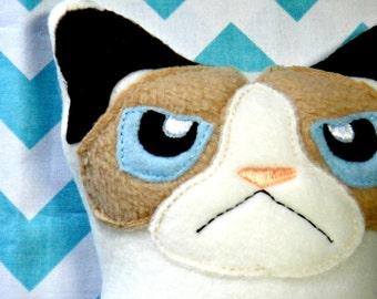 Cranky Kitty Softie Toy