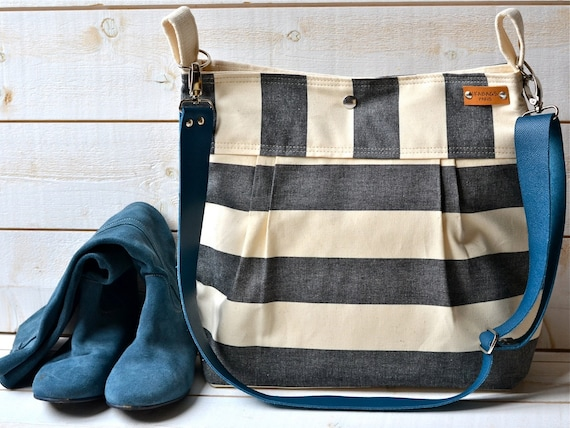 Canvas Messenger Bag from IKABAGS