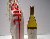 "wine ""gift"" bag"