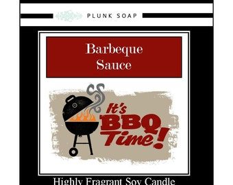 Barbeque Scented Soy Candle 9 oz