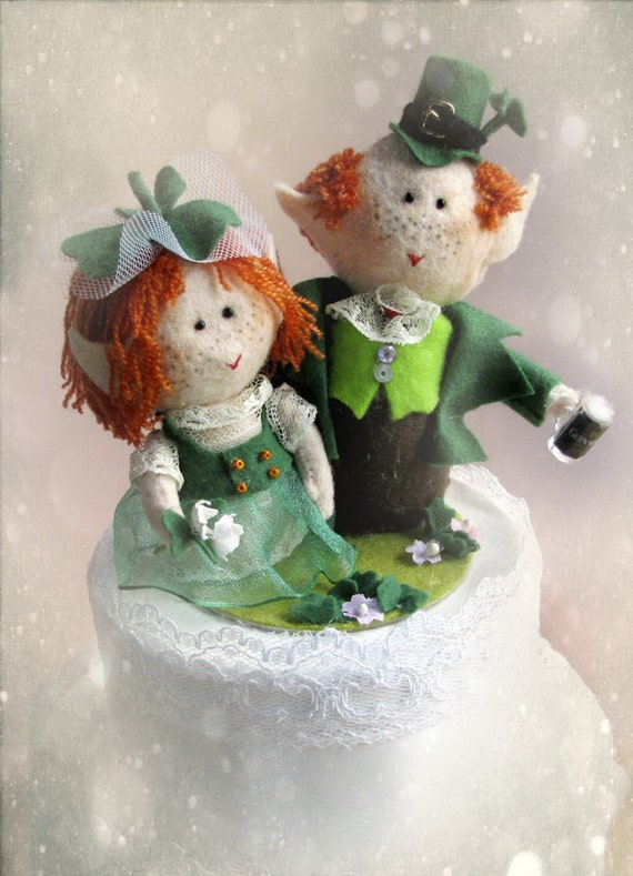 wedding cake toppers northern ireland guinness leprechaun wedding cake topper groom 26556