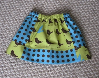 Girls' 2T elastic waist twirl skirt, Oh Deer by Moda skirt