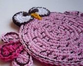 Crochet Crazy Bird Coaster Pattern, DIY