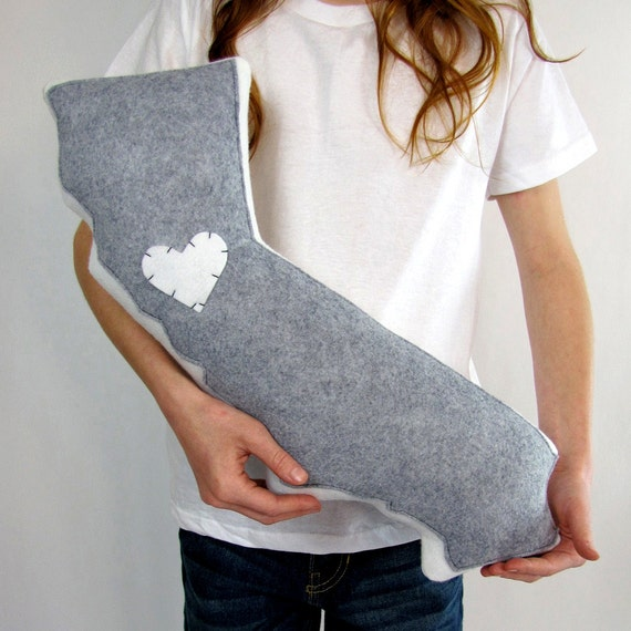 Customizable California State Pillow