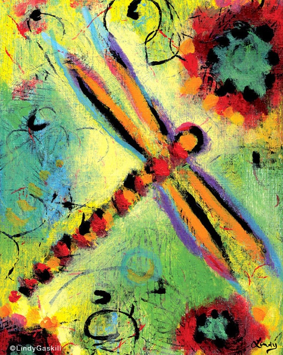 "Dragonfly Archival Print - 8"" x 10"" - Dragonfly Dreams I"