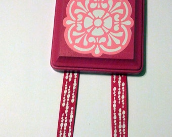 Pink Custom Hair Bow Holder