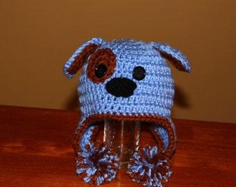 Puppy Dog Earflap Hat