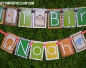 RESERVED for Kristie - Jungle Birthday Party Banners