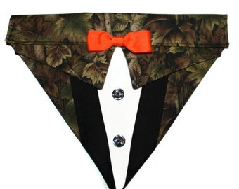 Bandana Suit Hunting Camouflage Sz XS S M