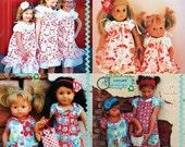 Lilac Lane Dress & Doll Combo Sewing PDF Patterns
